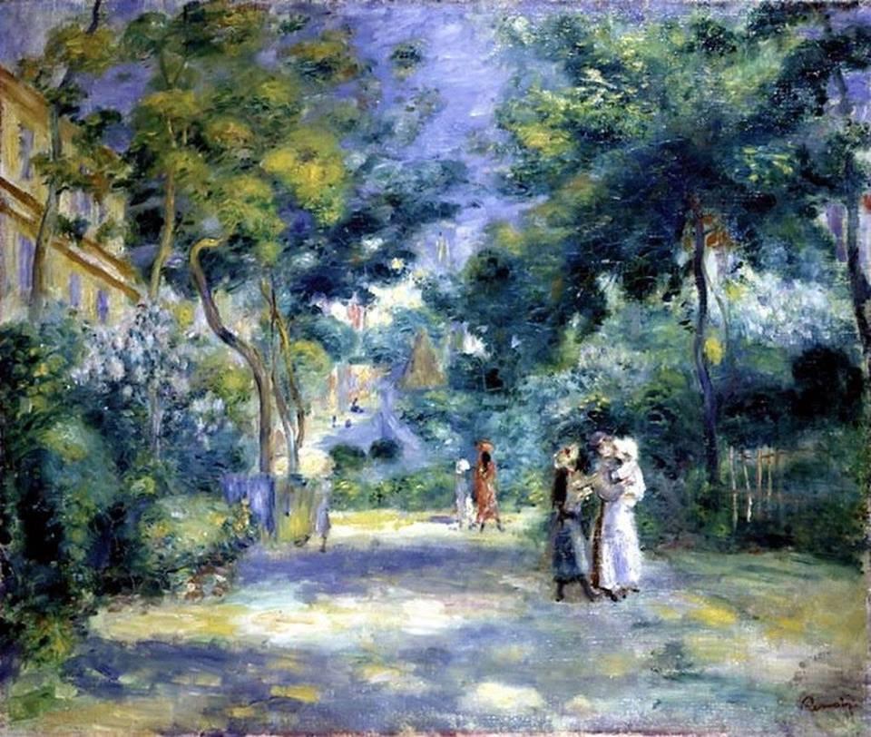 The garden in Montmartre - 1890